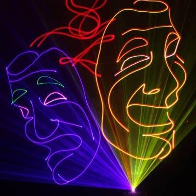 Рисующие лазеры (на гальванометрах)