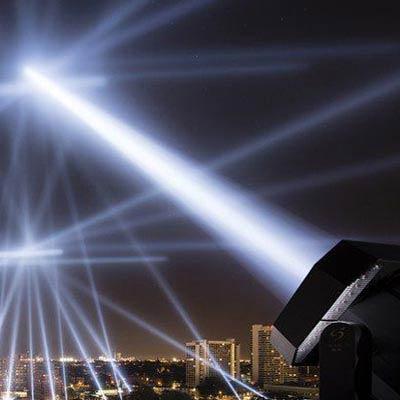 Зенитные прожекторы (В небо)