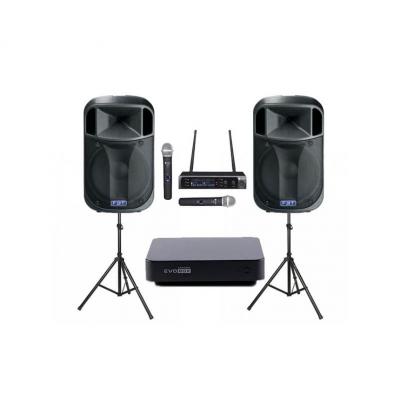 Комплект профессионального караоке оборудования EvoBox 4