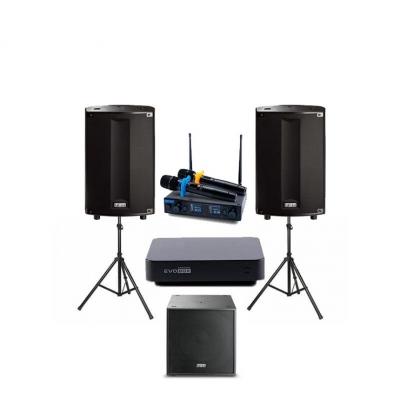 Комплект профессионального караоке оборудования EvoBox PLUS 5