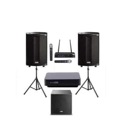 Комплект профессионального караоке оборудования EvoBox PLUS 3