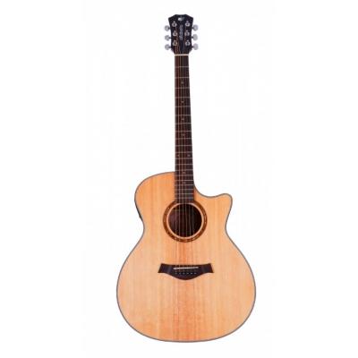 Электроакустическая гитара Alfabeto SOLID AMS40EQ ST + чехол
