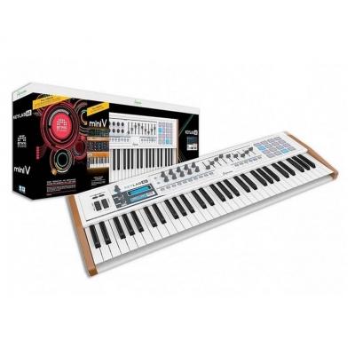 Миди-клавиатура ARTURIA KeyLab 61 + BTWG + MiniV (комплект)