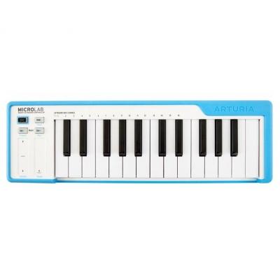 MIDI-клавиатура Arturia MicroLab (Blue)