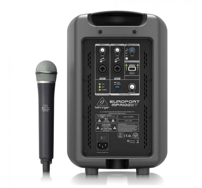 Портативная акустическая система Behringer Europort MPA100BT