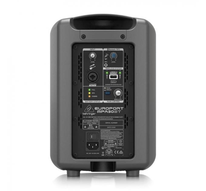 Портативная акустическая система Behringer Europort MPA30BT