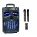 Автономная акустическая система BIG120HALLOWEN USB/MP3/FM/BT/TWS + 2pcs VHF mic