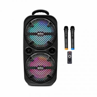 автономная акустическая система BIG220ENCORE USB/MP3/FM/BT/TWS + 2pcs VHF mic