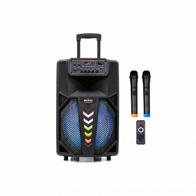 автономная акустическая система BIG240STAR USB/MP3/FM/BT/TWS + 2pcs VHF mic