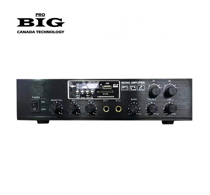 Трансляционный усилитель BIG MPA60 2zone MP3/FM/BT REMOTE