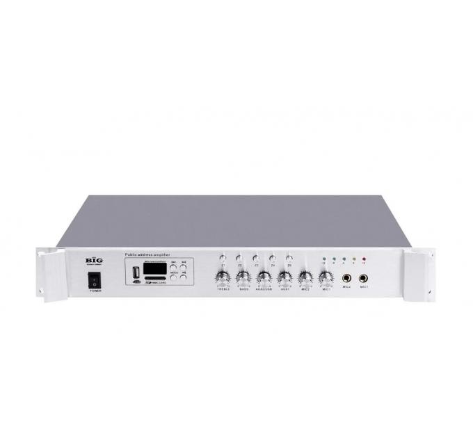 Трансляционный усилитель BIG PA80 5zone USB/MP3/FM/BT