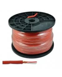 Кабель микрофонный Cabletech Azusa KAB0605B, стерео, 6 мм, 100 м красный