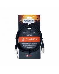 Clarity JACK-XLR(F)/3m