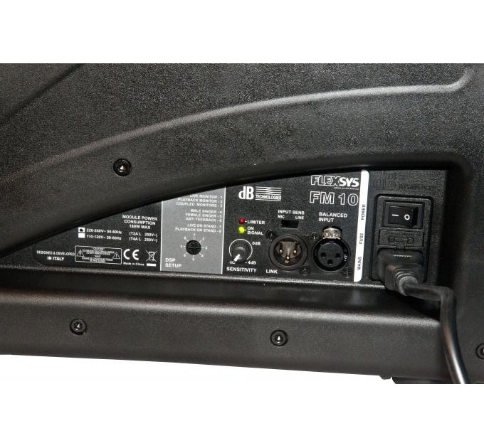 DB Technologies Flexsys FM10 - активный сценический монитор