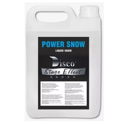 Жидкость для снега Disco Effect D-PS Power Snow, 5 л