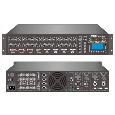 Трансляционный матричный микшер-усилитель с USB DV audio PA-4060