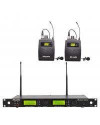 Радиосистема DV audio WMS-24B с петличными микрофонами