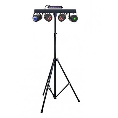 Комплект New Light PL-31P LED Par Can Set LED Par & LED Ball & UV Strobe & Laser