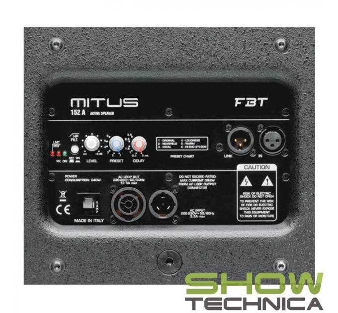 FBT MITUS 152A - активная акустическая система