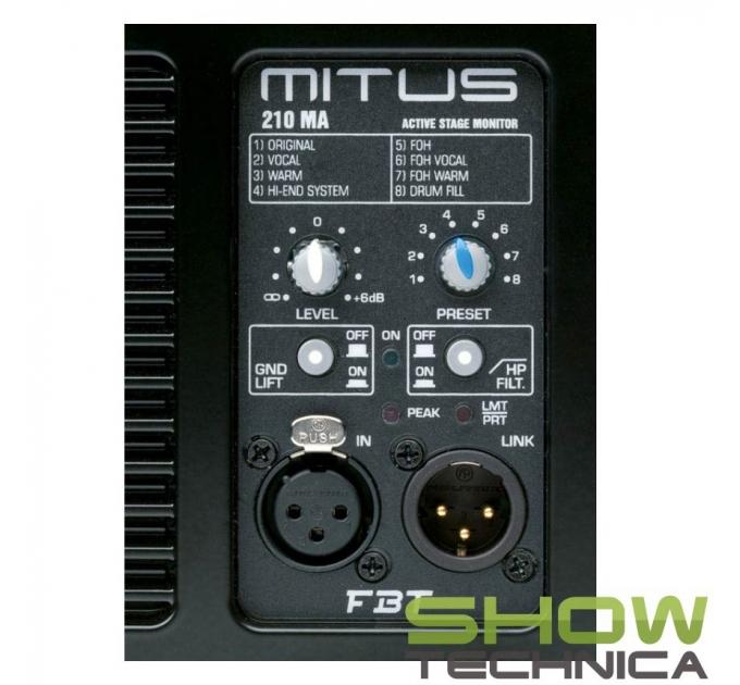 FBT MITUS 210МA - активный сценический монитор