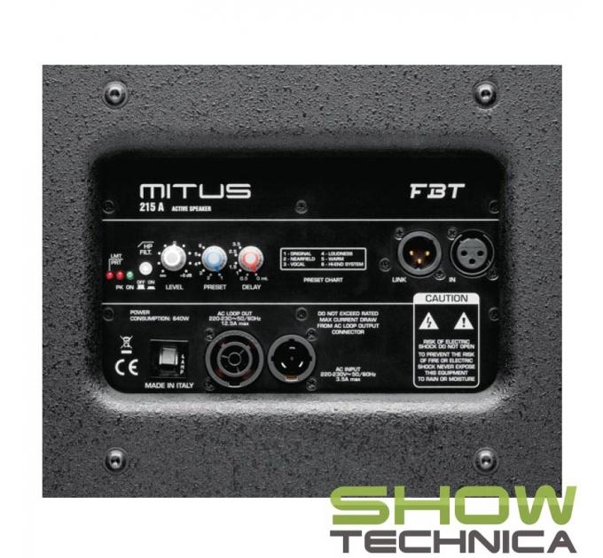 FBT MITUS 215A - активная акустическая система
