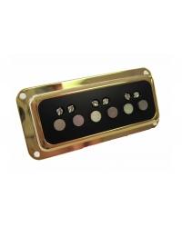 Звукосниматель для электрогитары GRETSCH DYNASONIC BRIDGE PICKUP GOLD