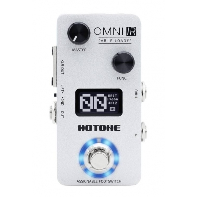 Симулятор гитарных кабинетов HOTONE AUDIO OMNI IR