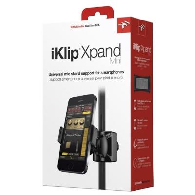 Держатель для смартфона на микрофонную стойку IK MULTIMEDIA iKLIP Xpand Mini