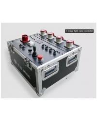 Групповой контроллер в кейсе Kool Sound Mode-4W-case на четыре электрические лебедки Mode-611