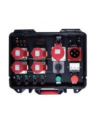 Групповой контроллер Kool Sound Mode-4W на четыре электрические лебедки Mode-611