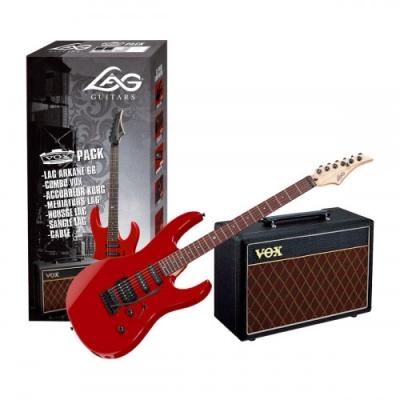 Гитарный набор Lag GLE PACKA60-DRD