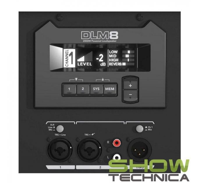 Mackie DLM8 - активная акустическая система