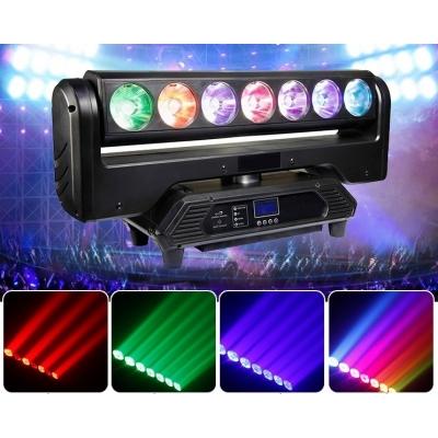 LED Голова New Light M-YLM7-15 RGBW LED WASH MOVING HEAD 7*30W 4 в 1