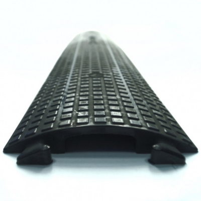 Кабельный трап 1-Channel PU Cable Cover PU, Black