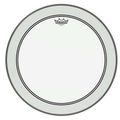 "Пластик для басового барабана REMO POWERSTROKE 3 CLEAR 22"""