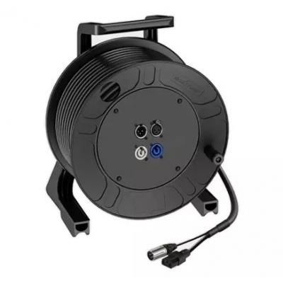 Кабельный барабан с акустическим и силовым кабелем ROXTONE CDPS010-IECL25, 25 м