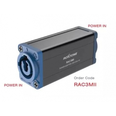 Переходник Roxtone RAC3MII POWER IN - POWER IN