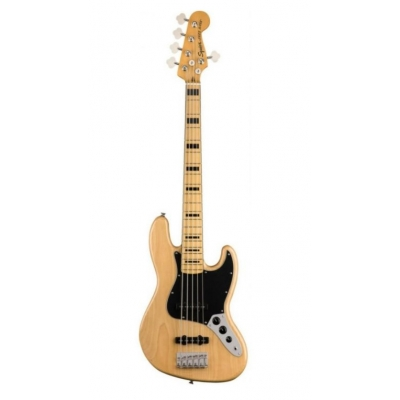 Бас-гитара SQUIER by FENDER CLASSIC VIBE '70s JAZZ BASS V MN NATURAL