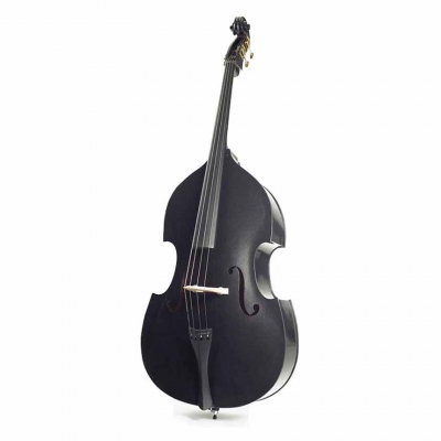STENTOR 1950LCBK Harlequin Rockabilly Double Bass 3/4 (Black)