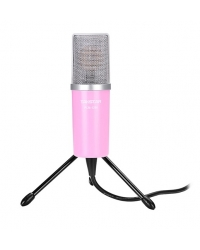 Микрофон для караоке Takstar PCM-1200p, розовый