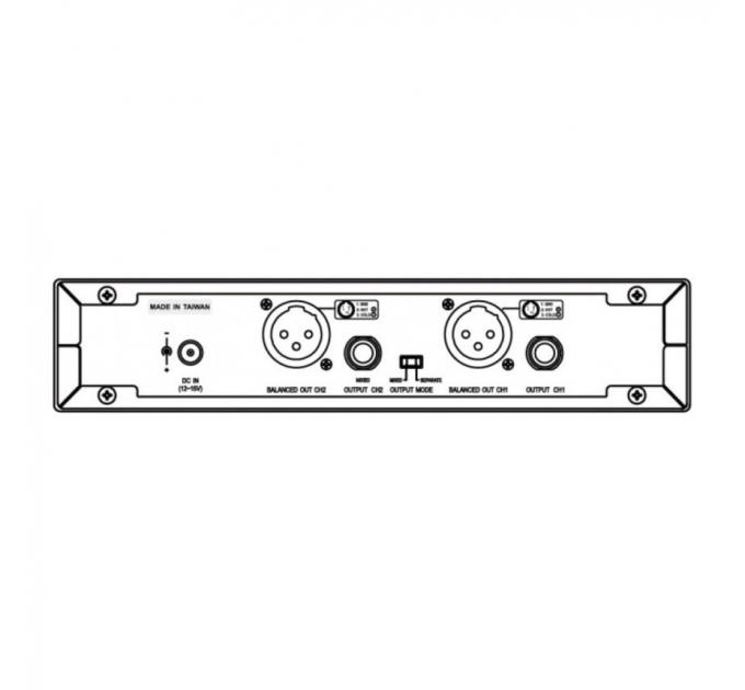 MIPRO ACT-2402/2*ACT-24HC/MP-80