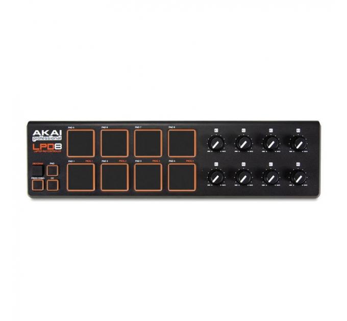 AKAI LPD-8 MIDI контроллер