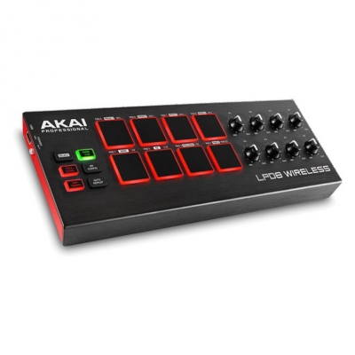 AKAI LPD8 WIRELESS MIDI контроллер