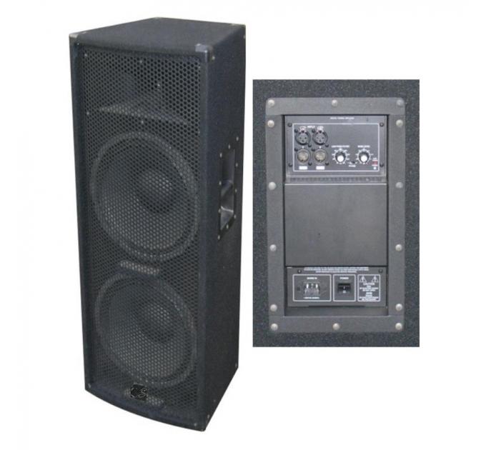 City Sound CS-212A 2x12-1 500-1000 Вт 4 Ом - активная акустическая система