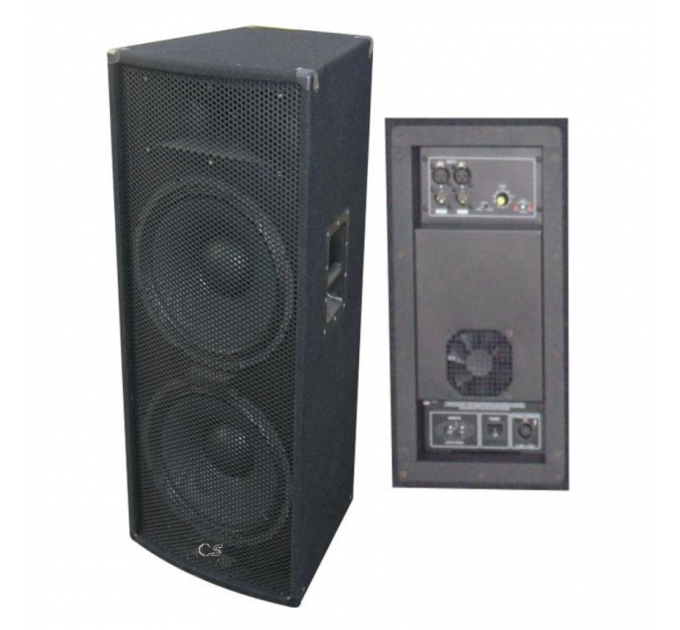 City Sound CS-215A 2x15-1 700-1400 Вт 4 Ом - активная акустическая система