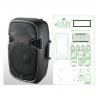 NGS PP-2115AUES-IPOD 15-3 400-600 Вт 4 Ом - активная акустическая система