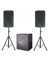Активный акустический комплект IBIZA CUBE1512