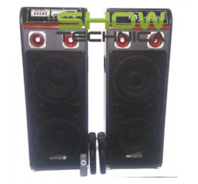 Активный комплект акустики BIG STAGE210 + 1шт радио микрофон