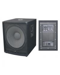 "Активный сабвуфер City Sound CSW-15A, 15"", 500/1000 Вт, 8 Ом"