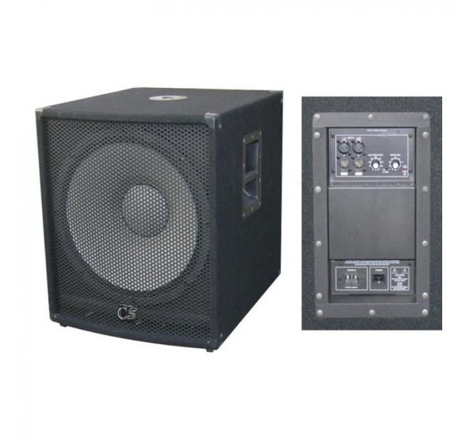 "Активный сабвуфер City Sound CSW-18BA, 18"", 700/1400 Вт, 8 Ом"